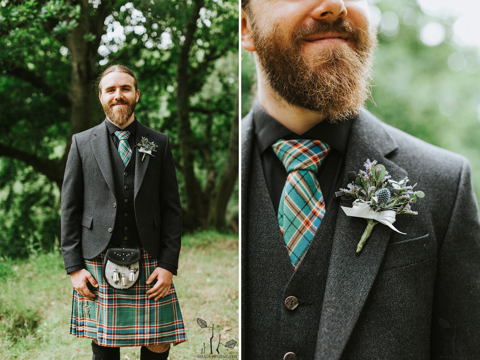scottish wedding attire