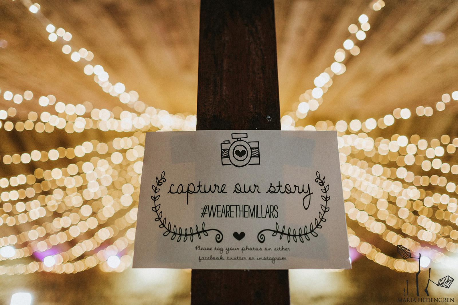 wedding insagram hashtag