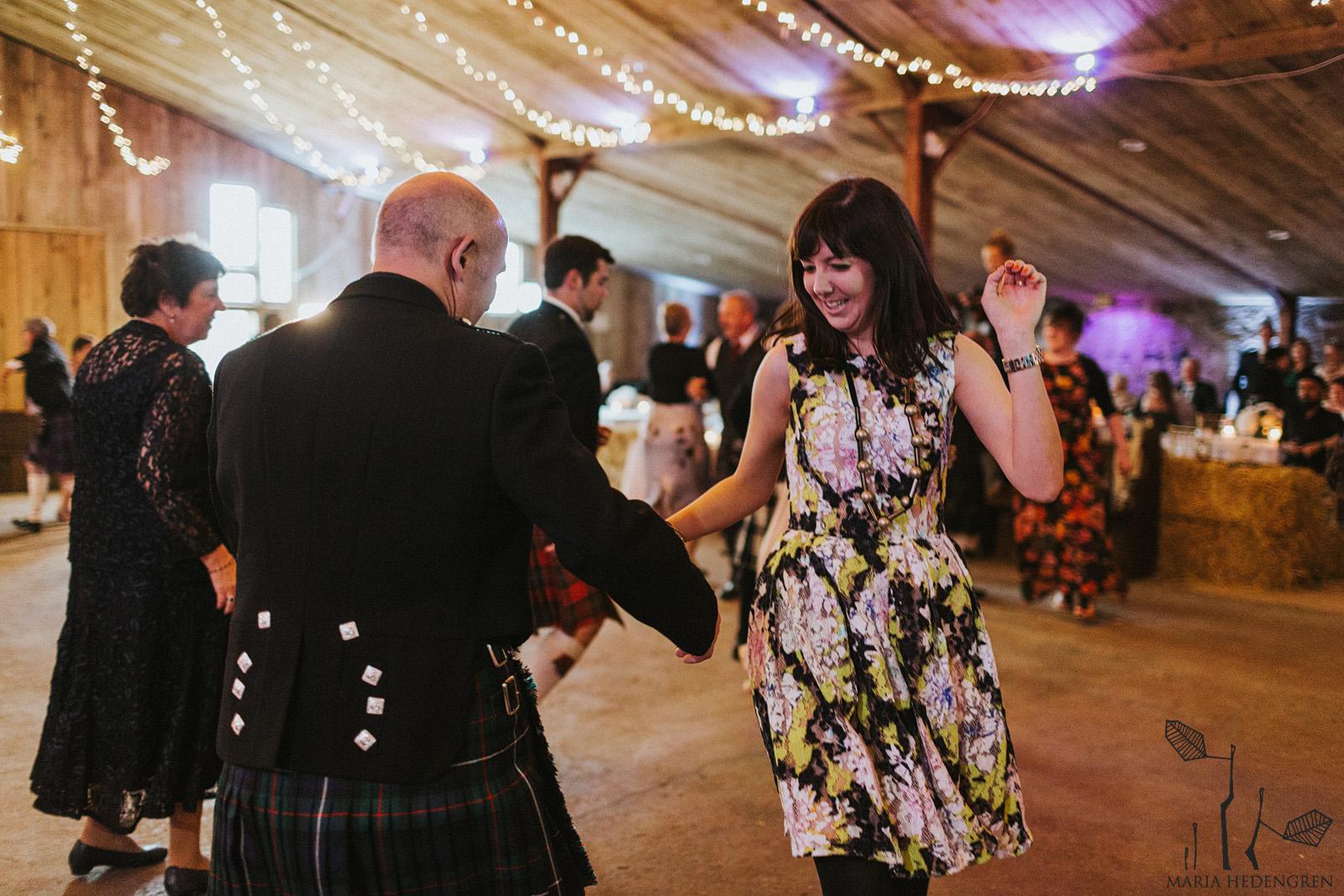scottish wedding dances