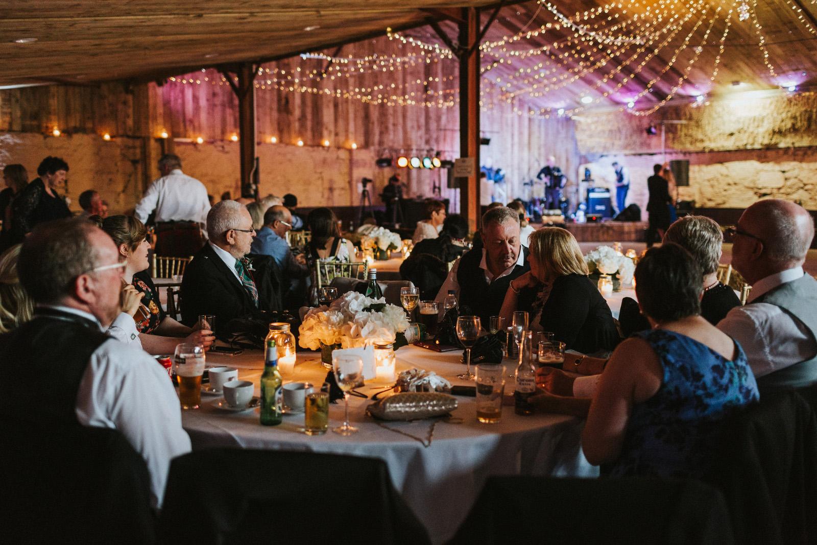 scottish wedding dinning