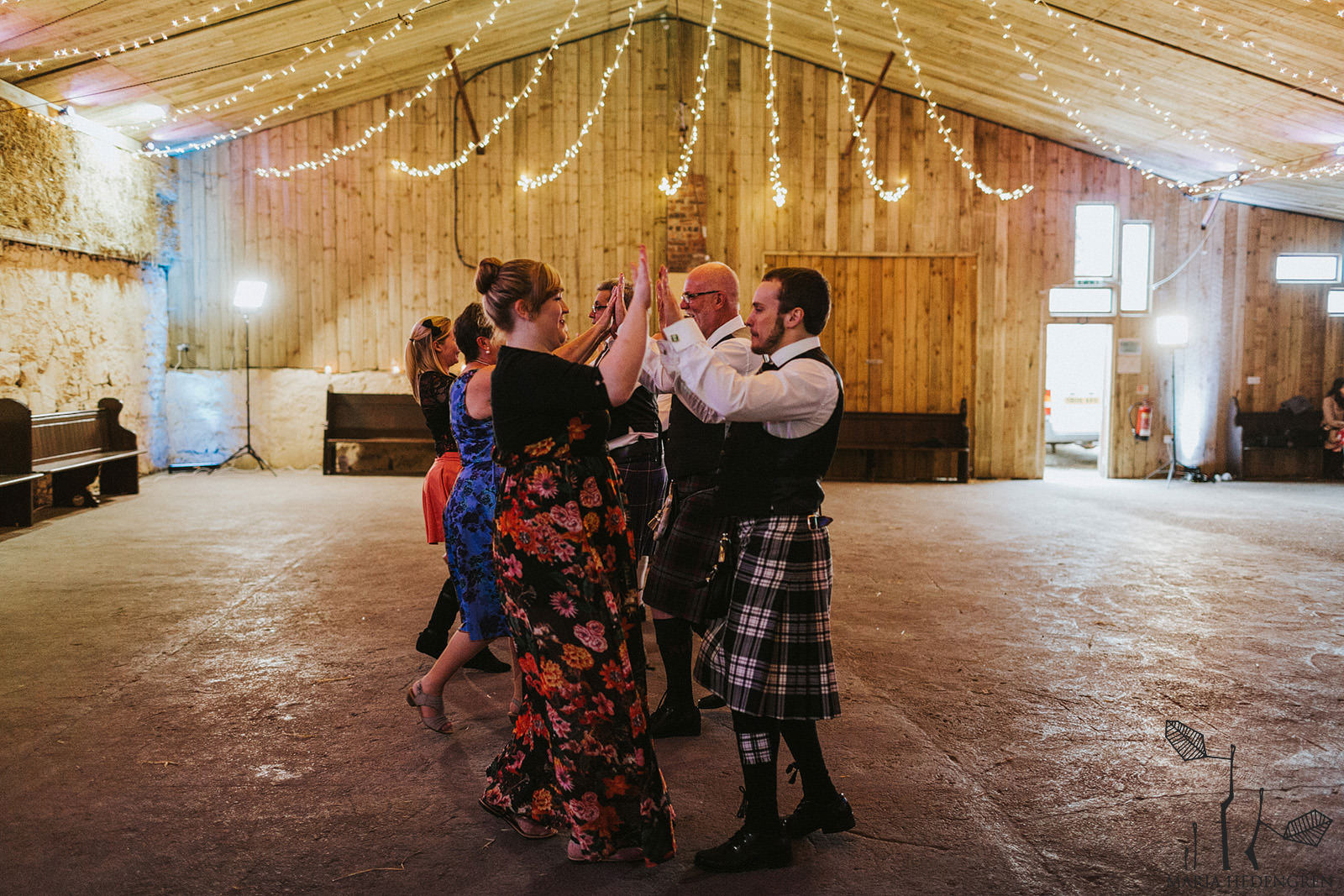 Ceilidh dances