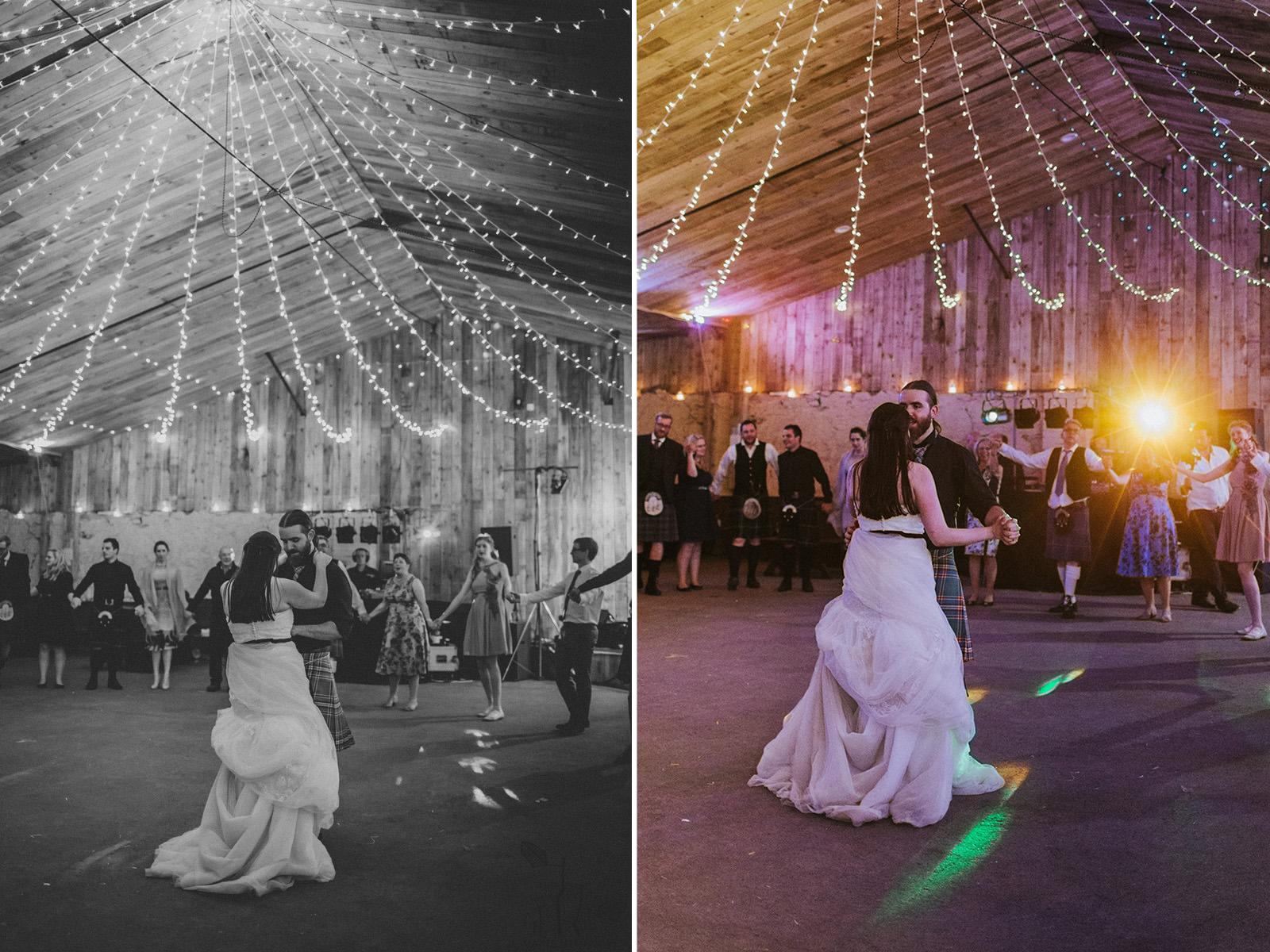 old lang syne dance