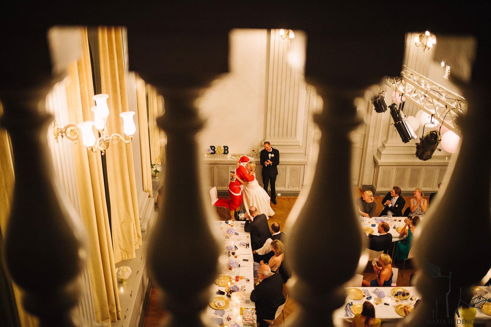 santa claus wedding