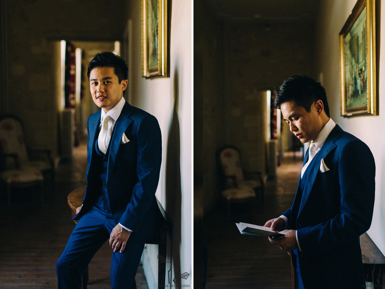 groom reading