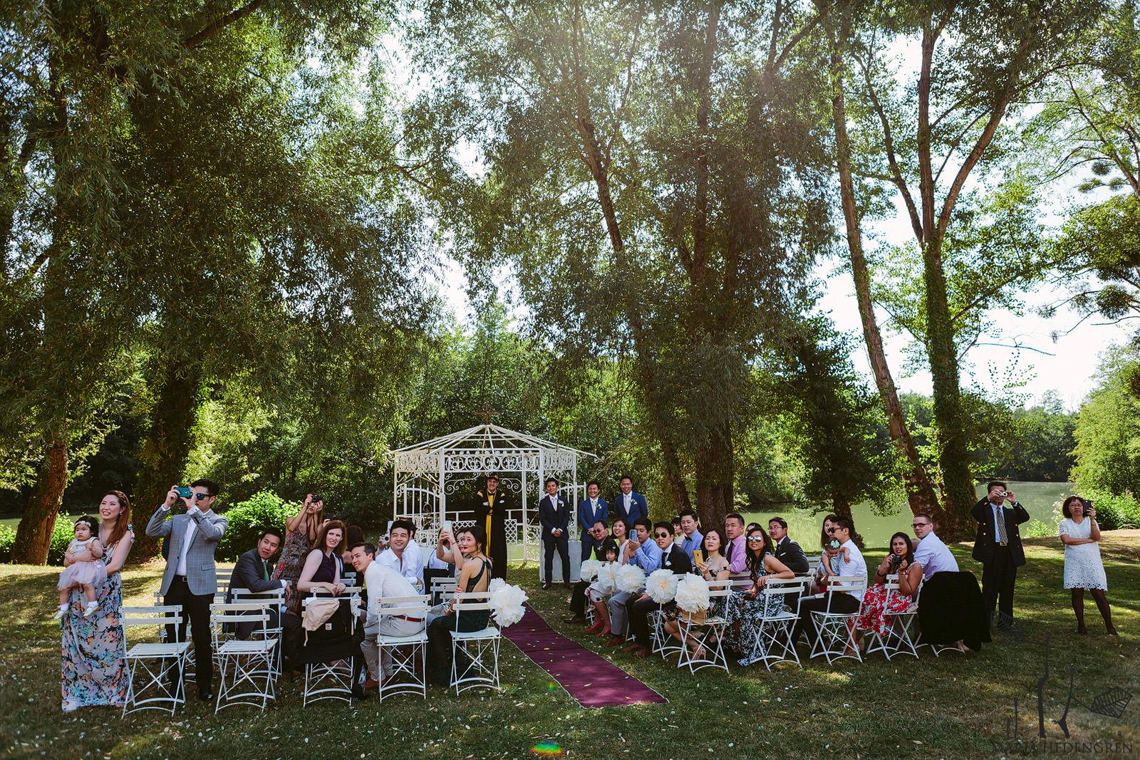 wedding at lagorce