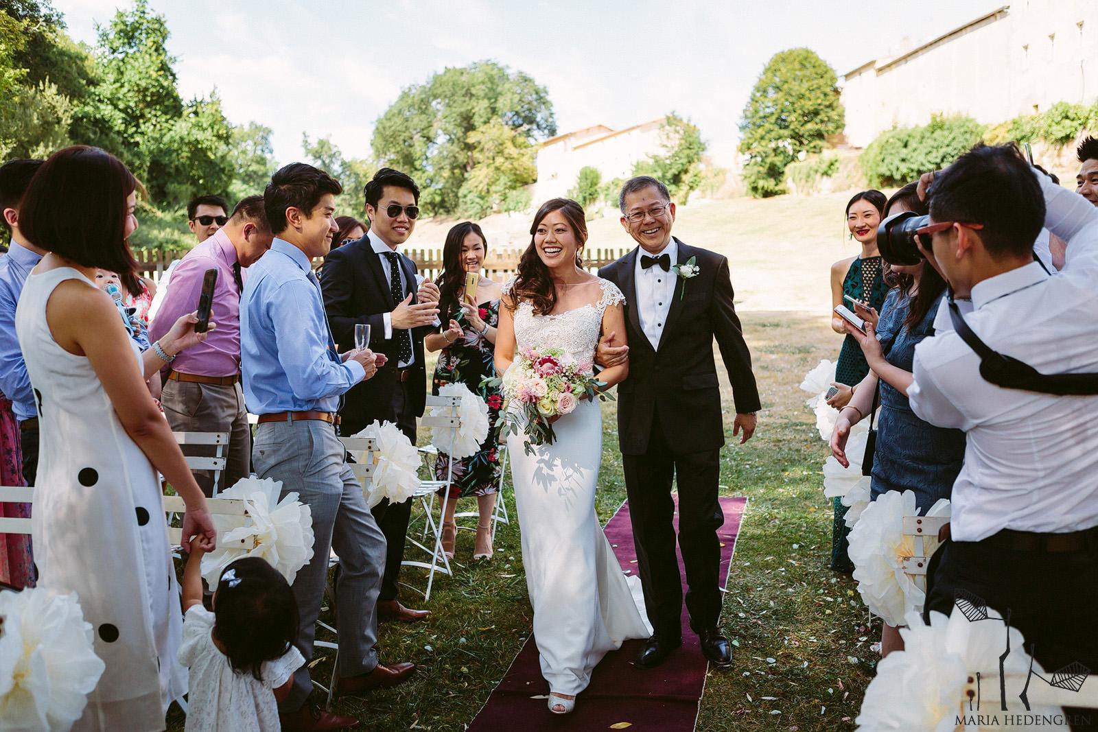 wedding at chateau lagorce
