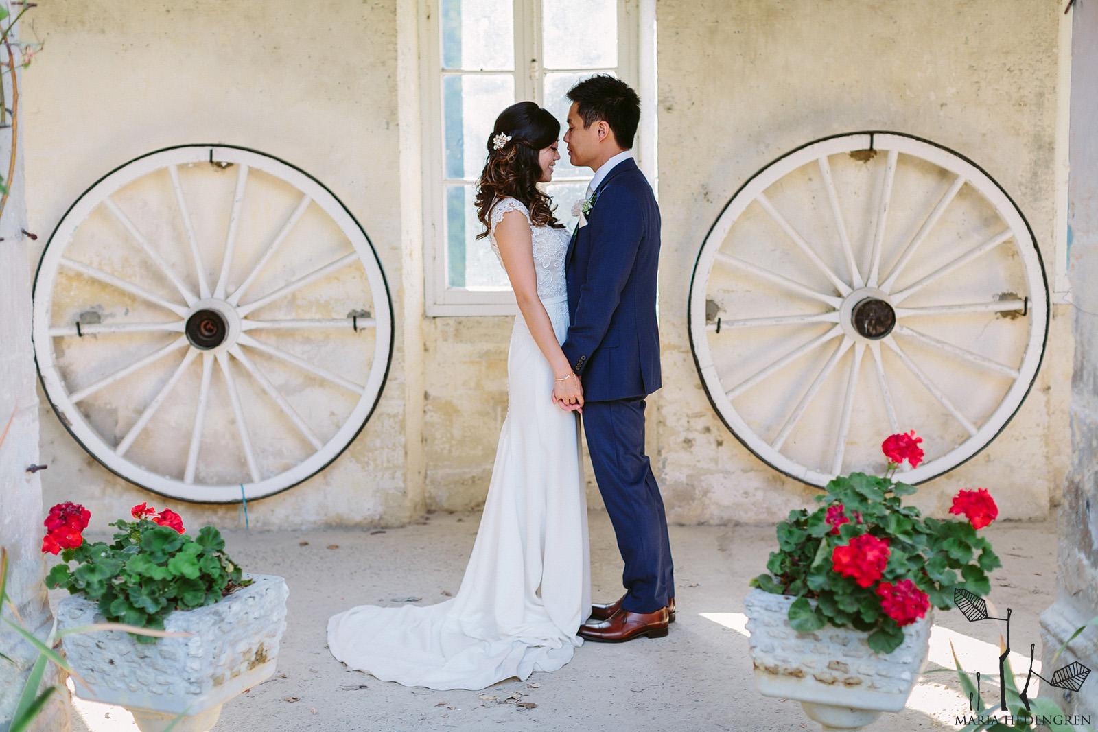 St Emilion wedding