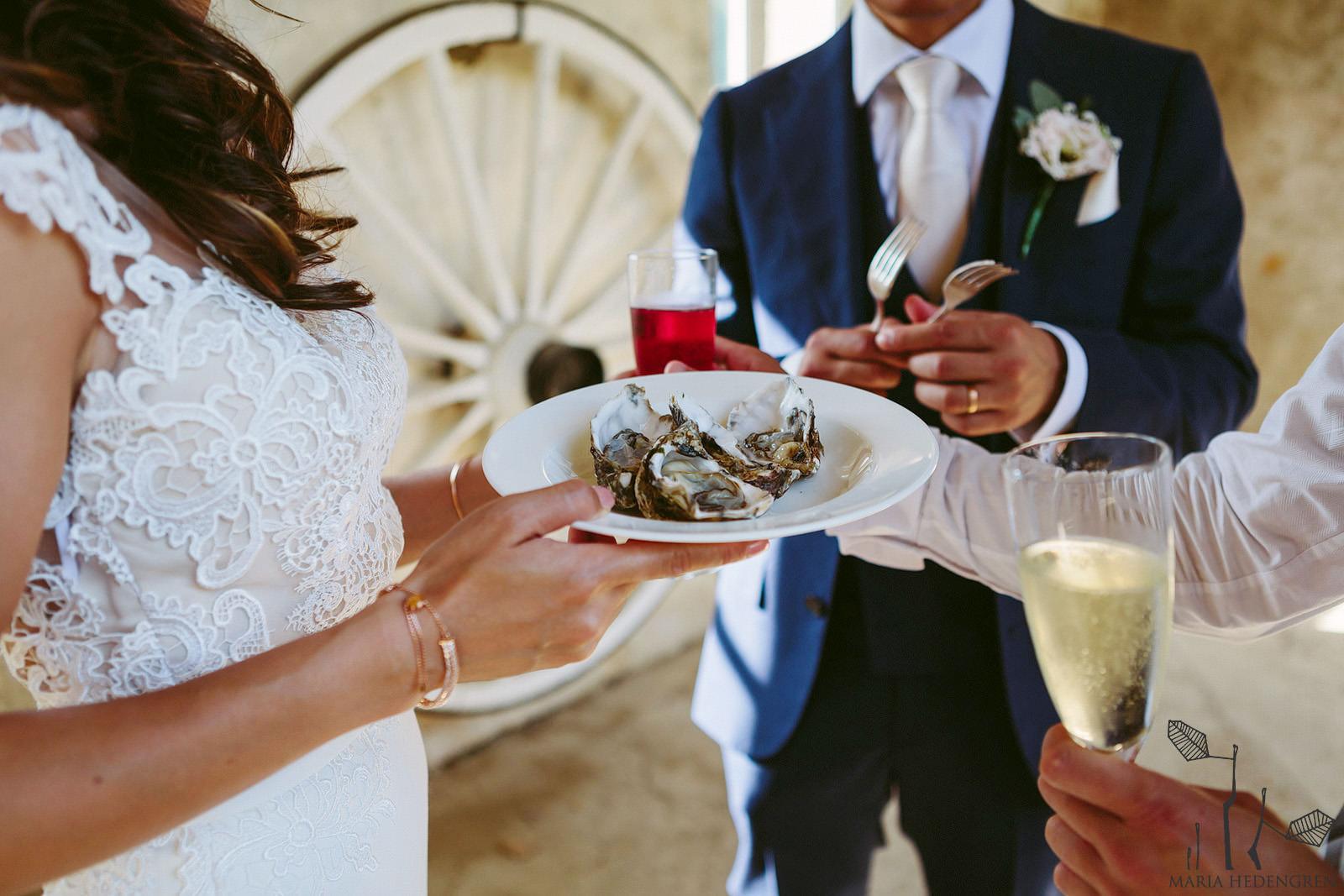 wedding oysters