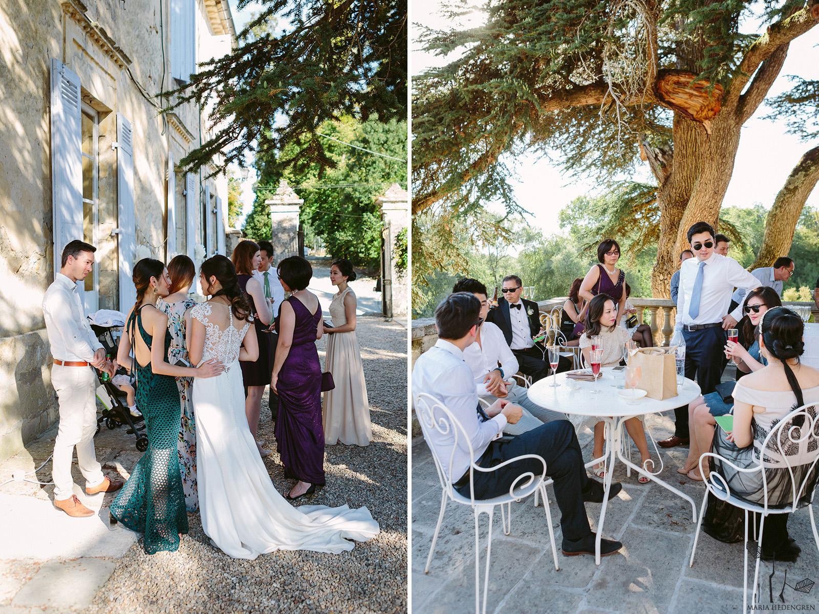 France garden wedding