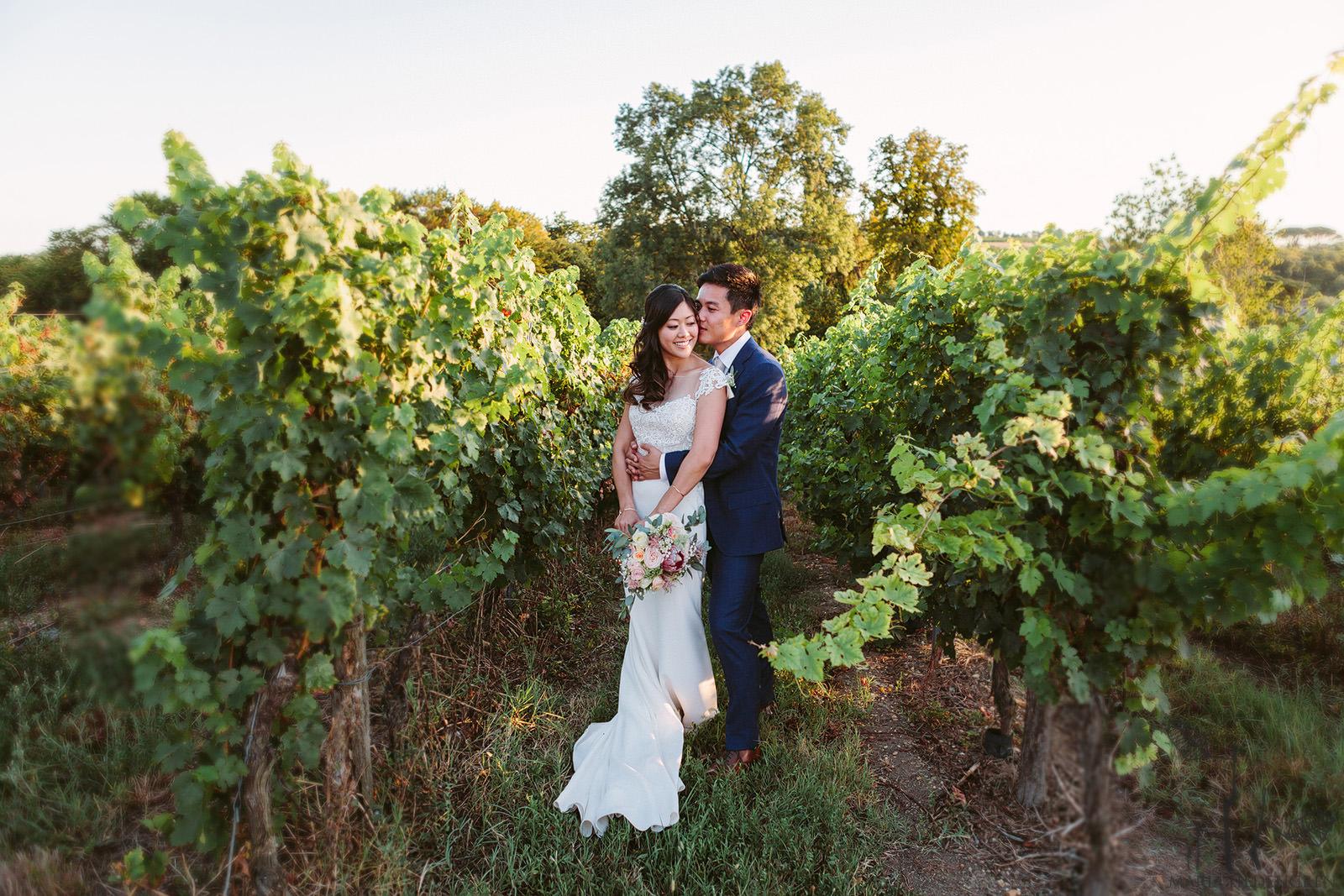 France Vineyard wedding