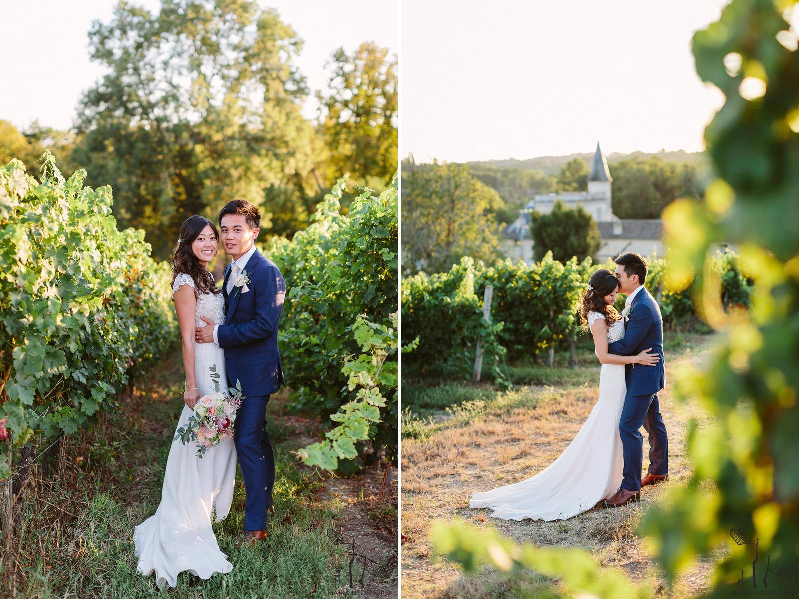 vineyard wedding France