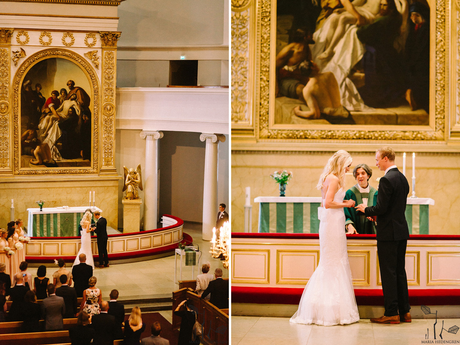 wedding Helsinki cathedral