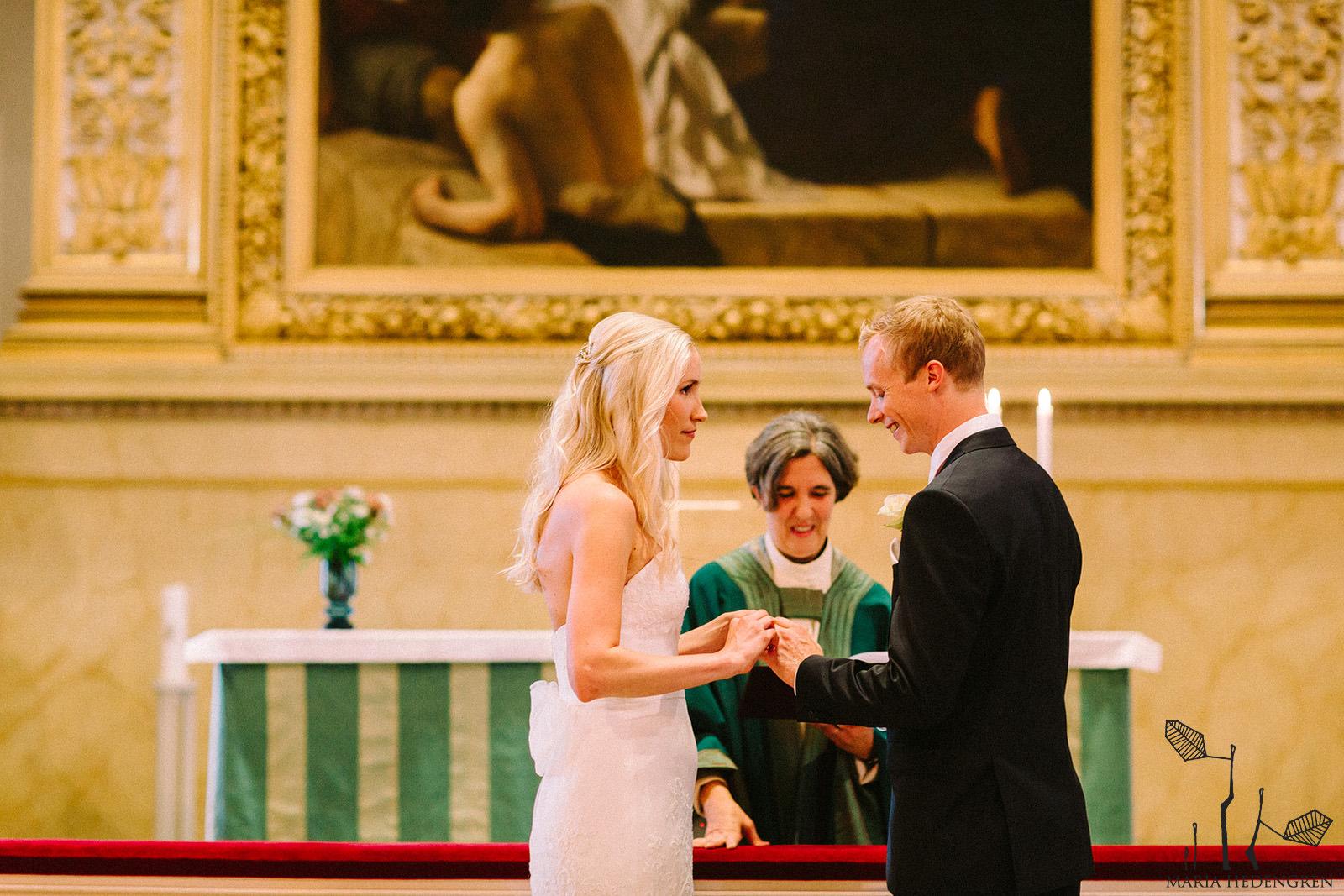 Helsinki cathedral wedding