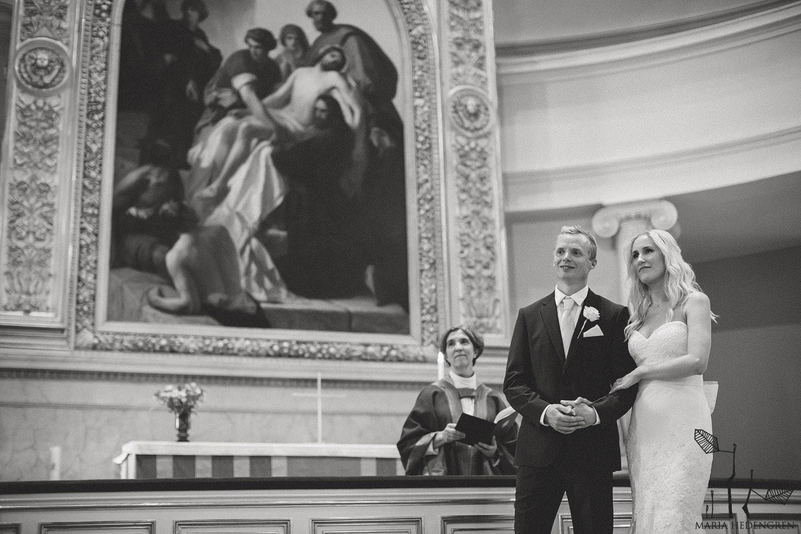 wedding Helsinki cathedral