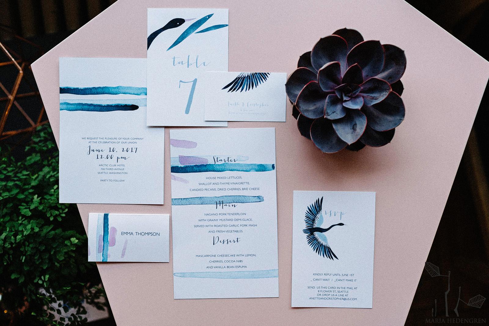 Nordic Wedding invitations
