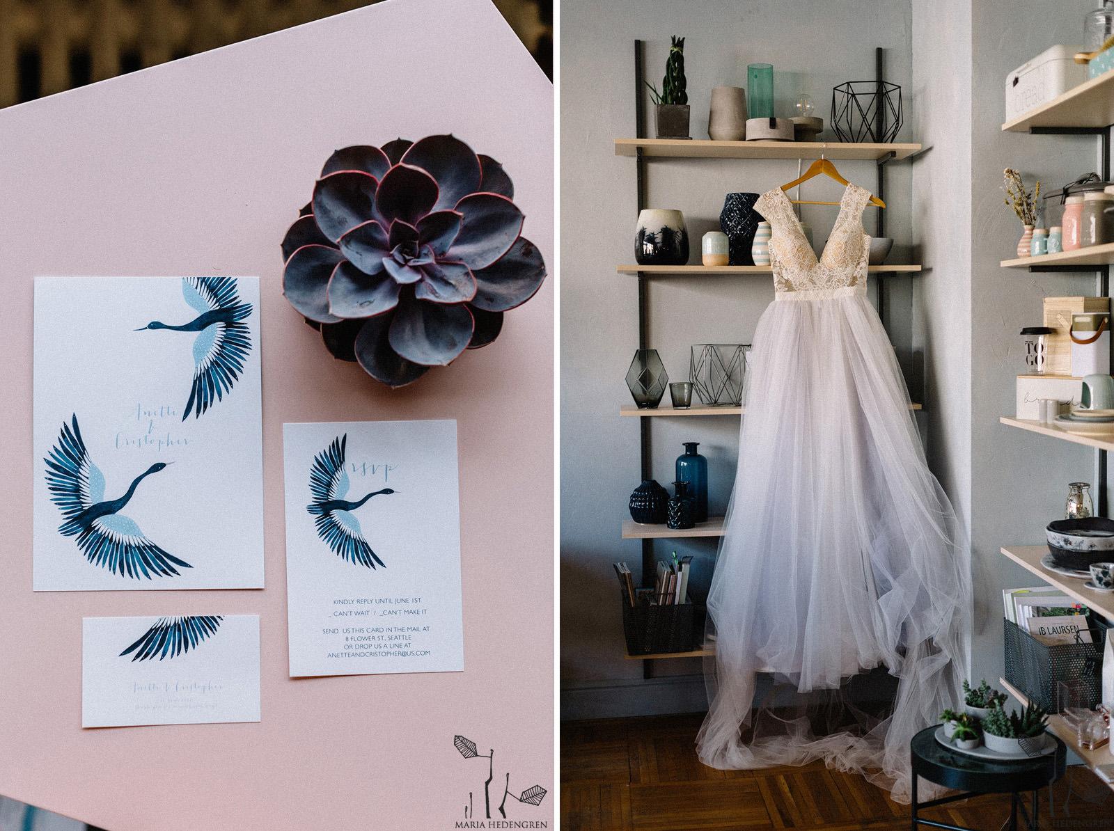 Nordic Wedding Invitation
