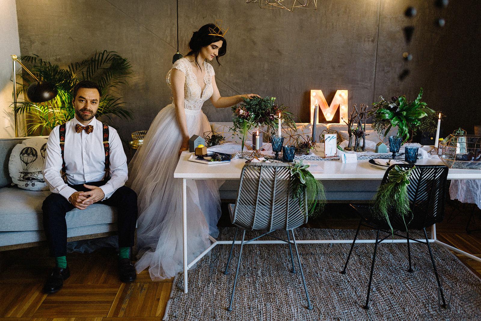 Scandinavian Design Wedding