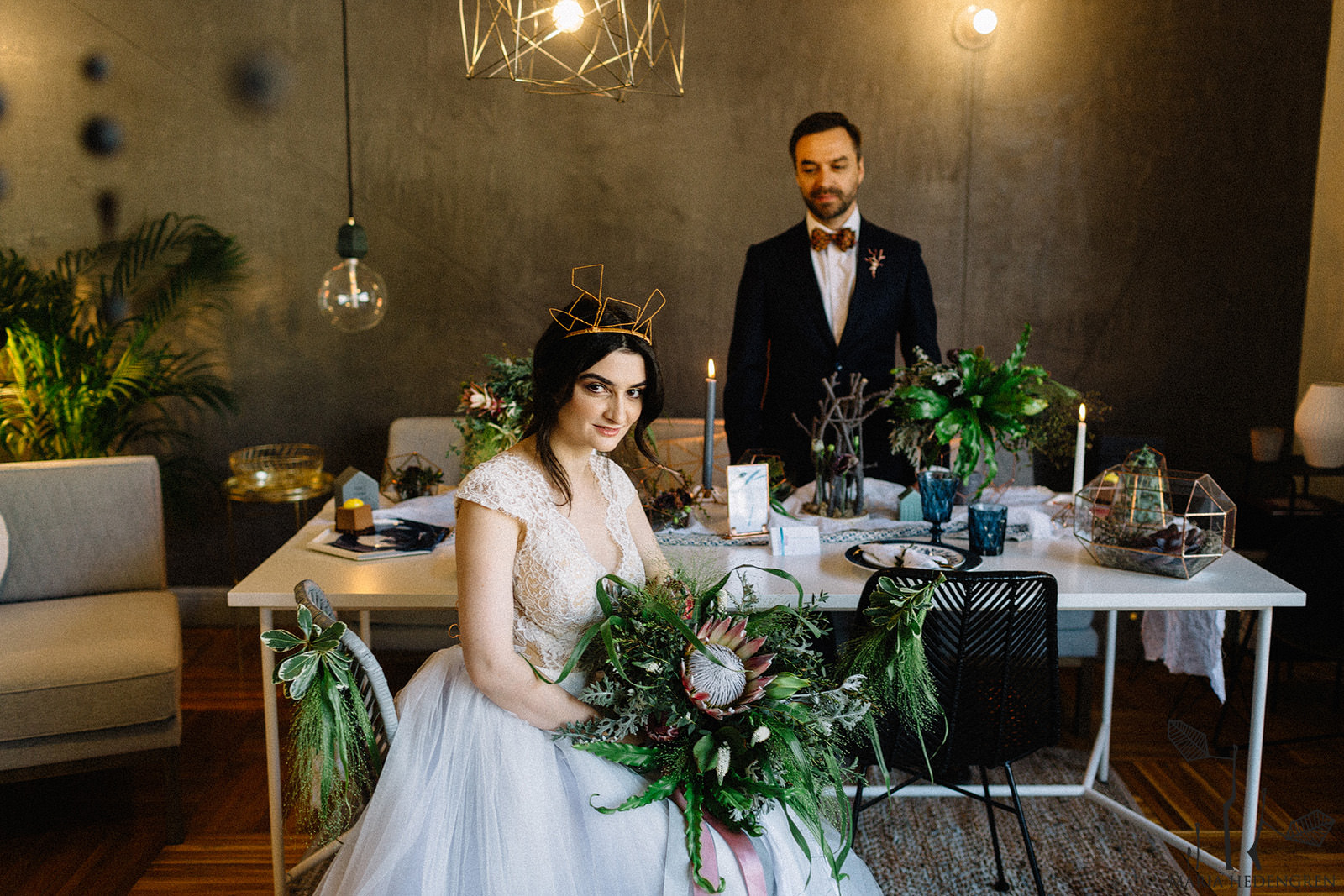 Scandinavian Design Wedding