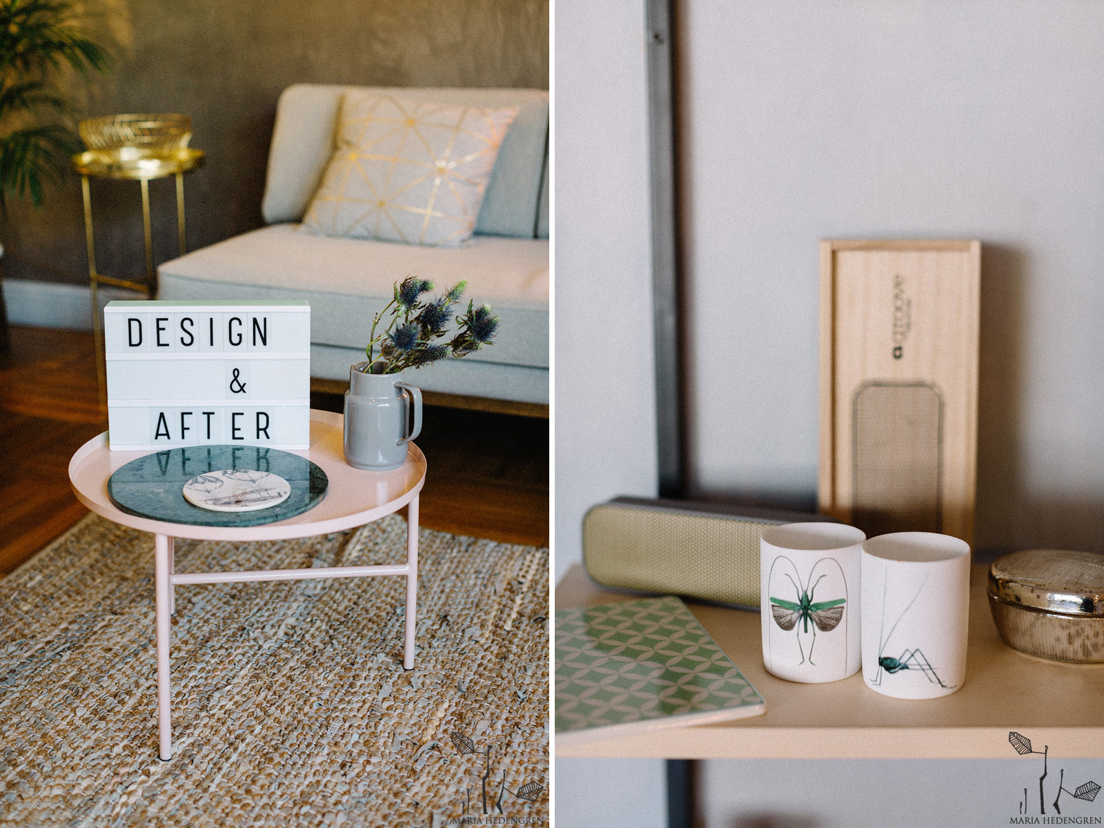 design and after