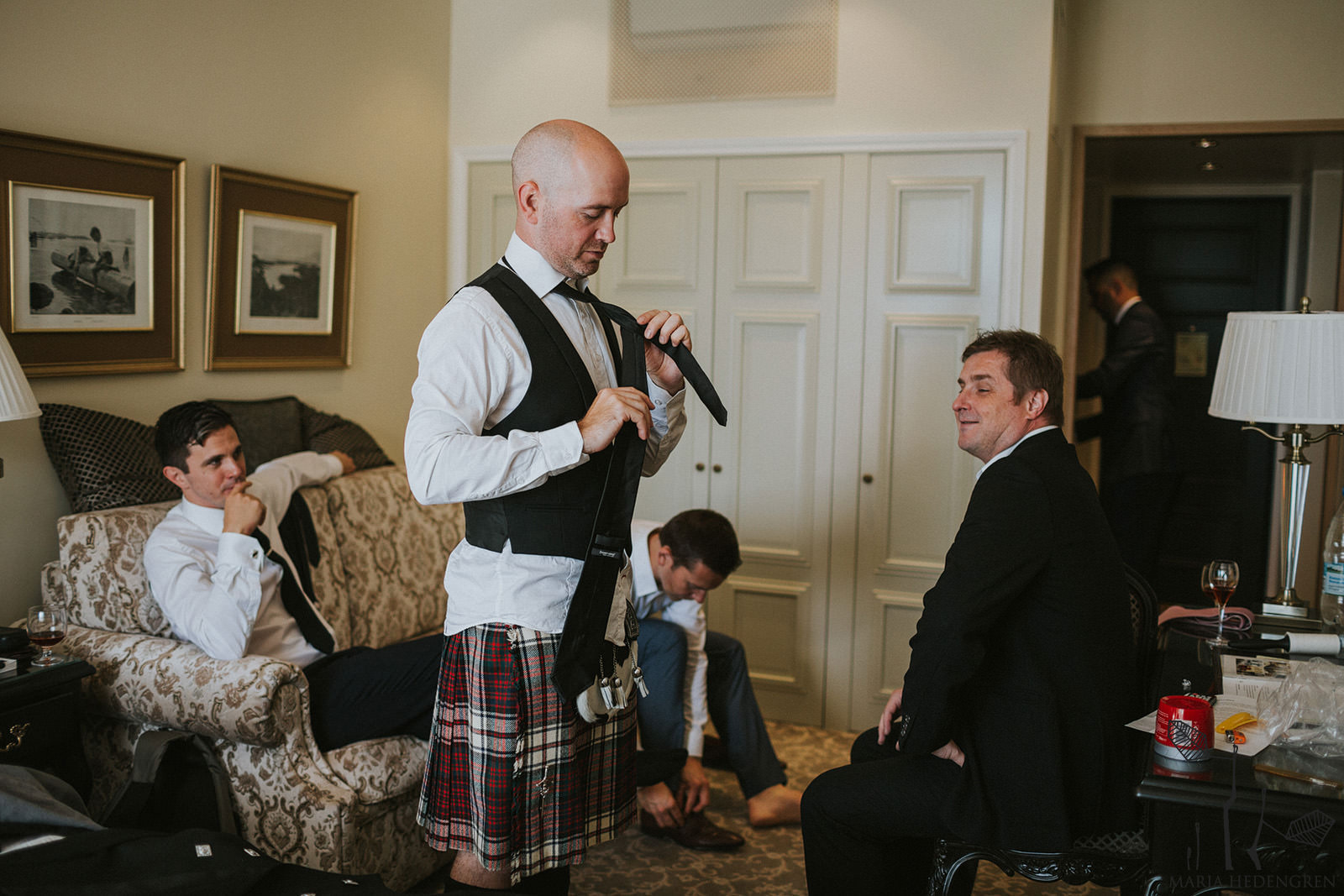scottish wedding finland