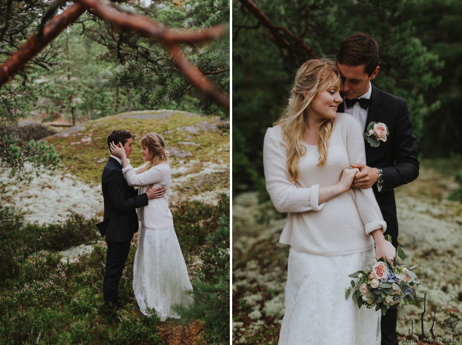 Finnish forest wedding