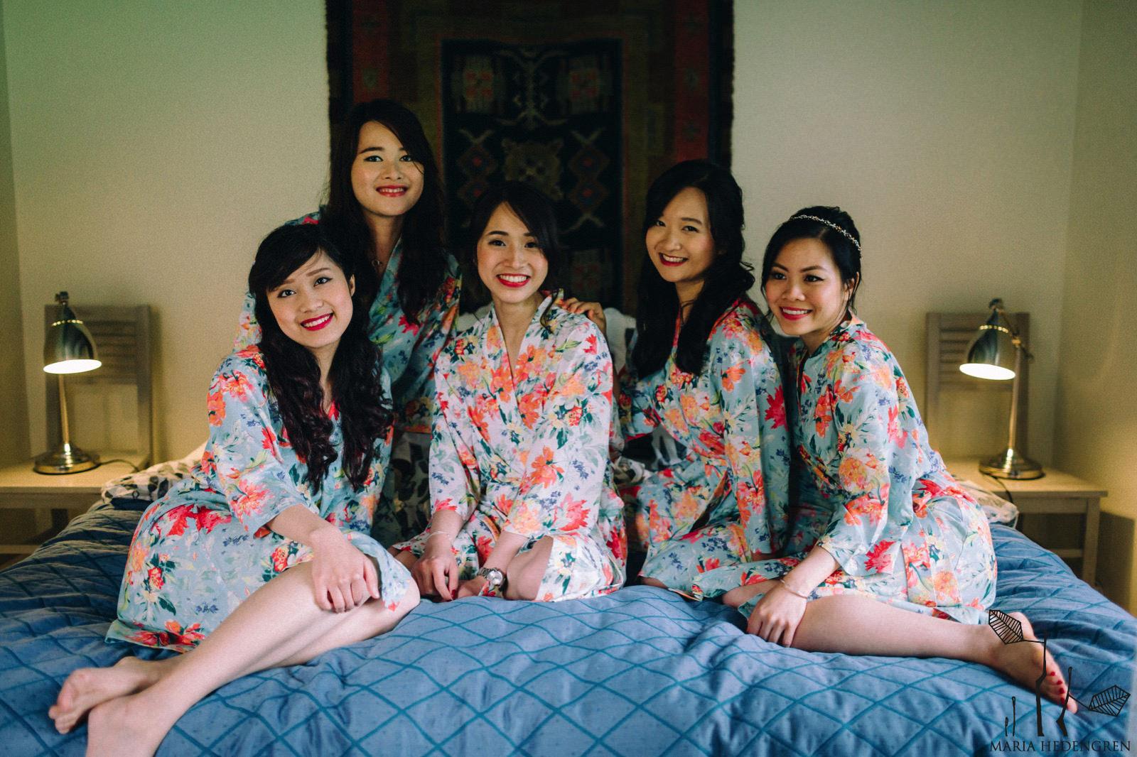 vietnamese bridesmaids