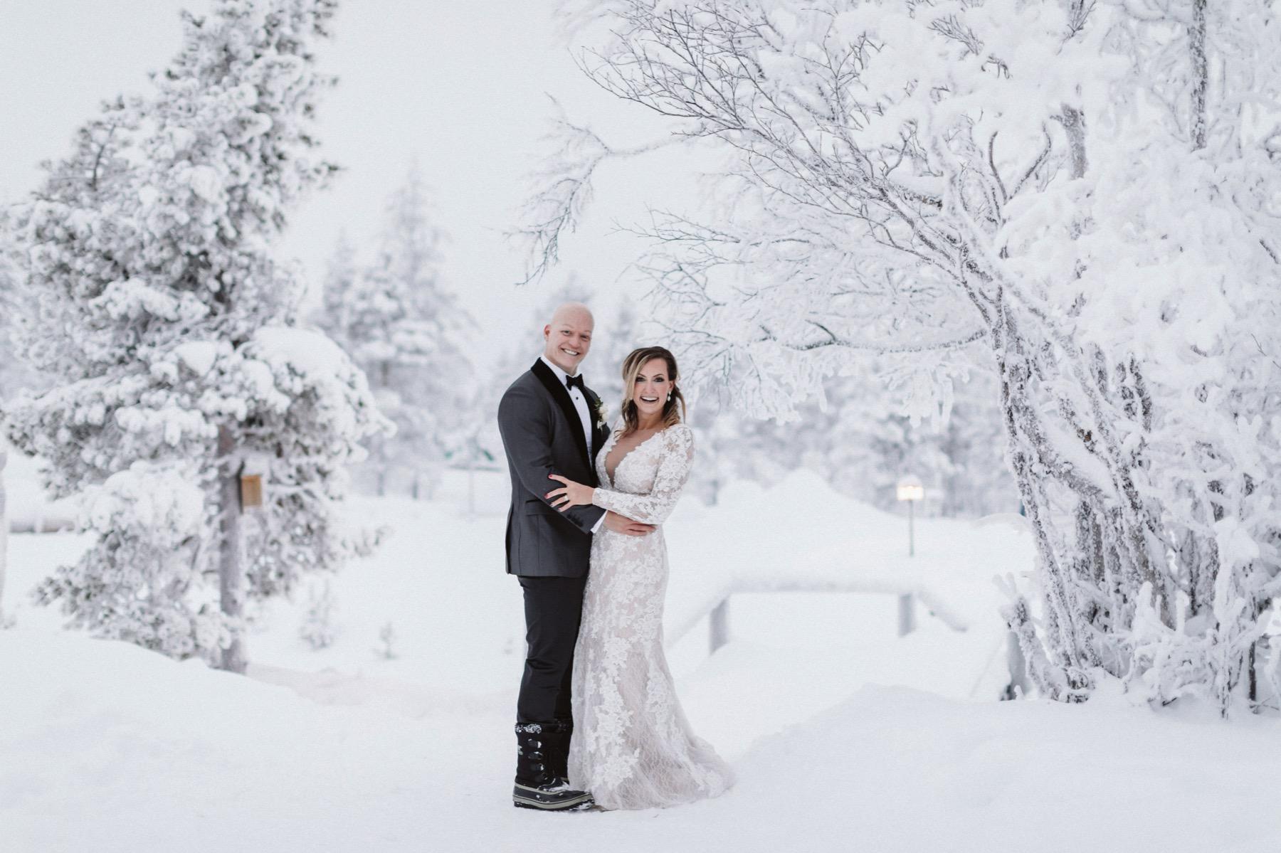 Kakslauttanen Resort Wedding