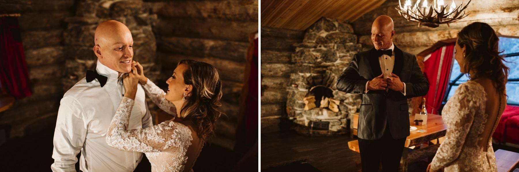 Kakslauttanen wood cabin