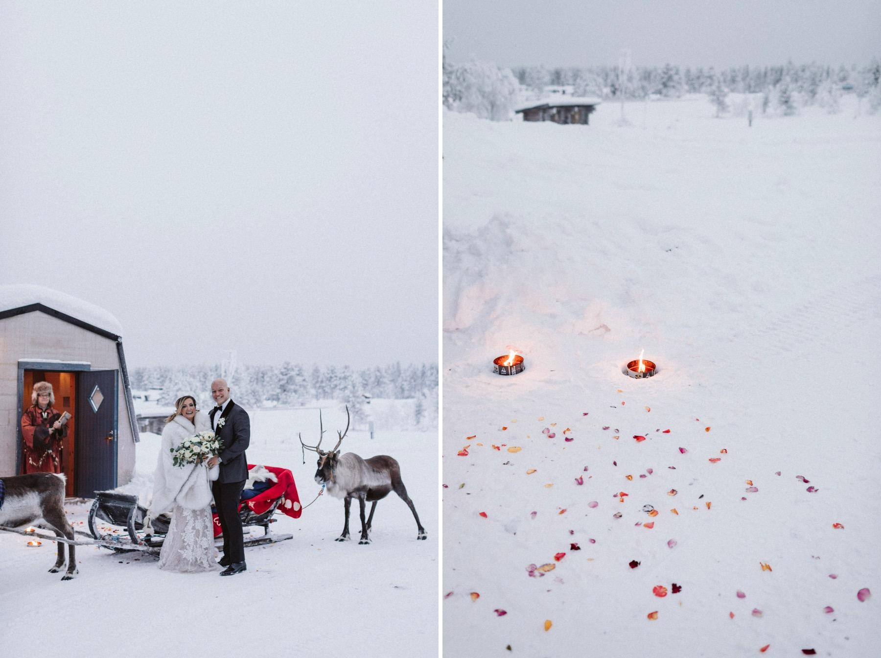 Sami wedding Lapland