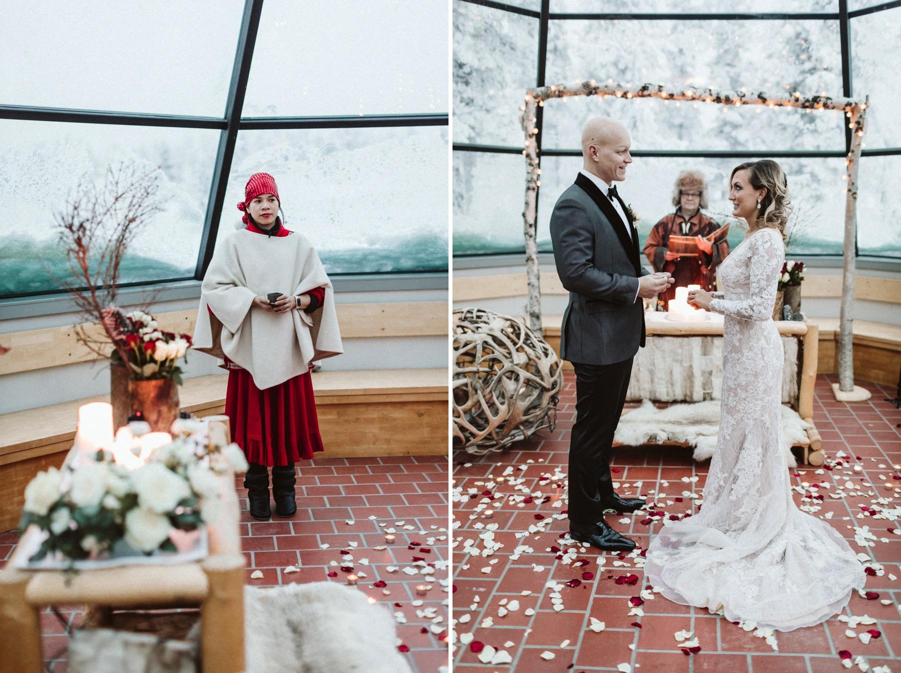 Kakslauttanen wedding
