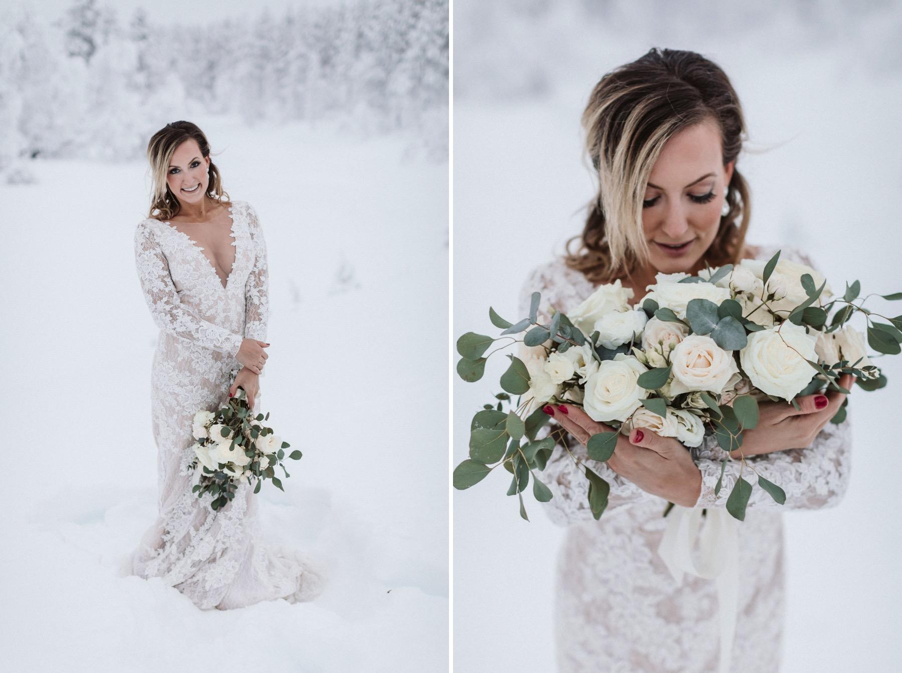 best wedding photographer Lapland