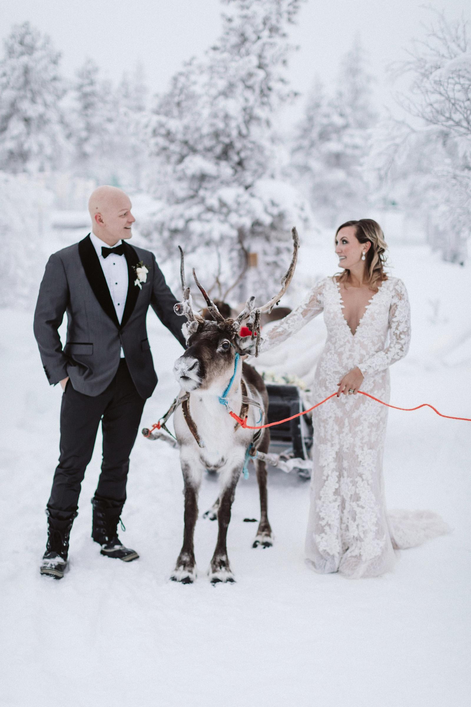 Lapland photo shoot