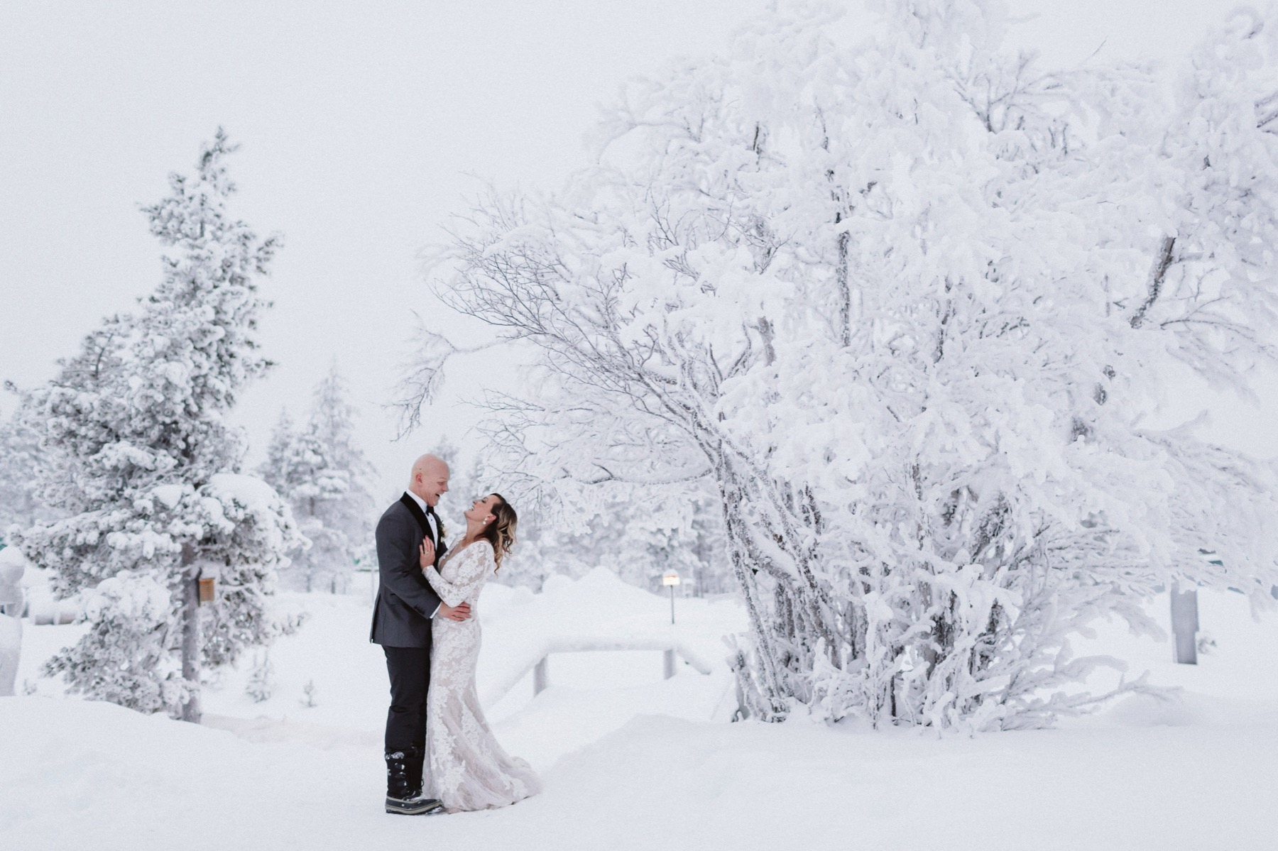 Lapland elopement
