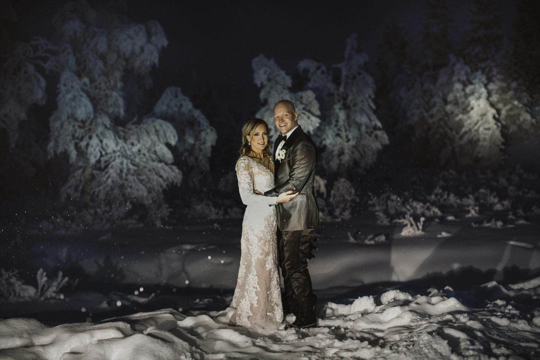 Night session Lapland