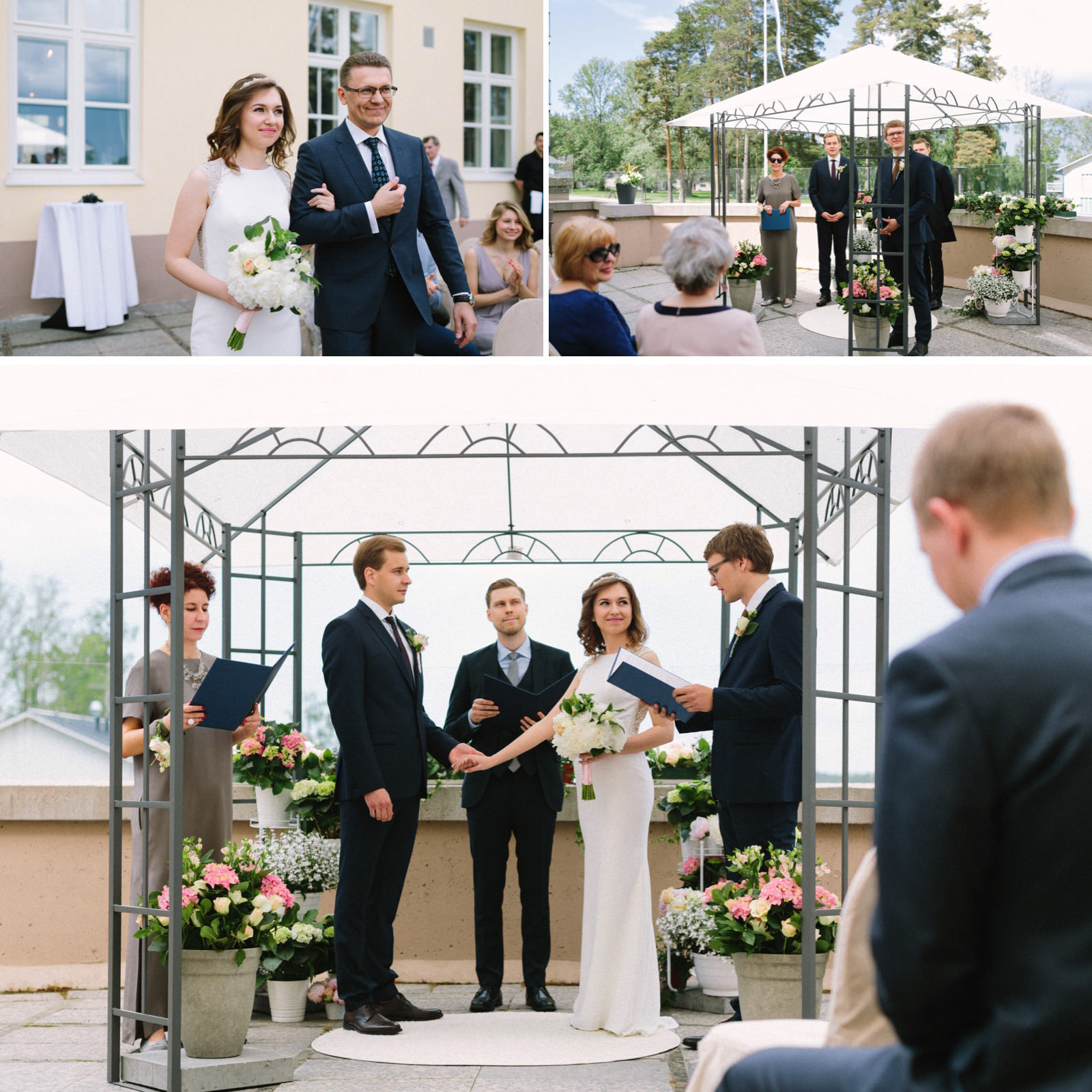 Paviljonki wedding