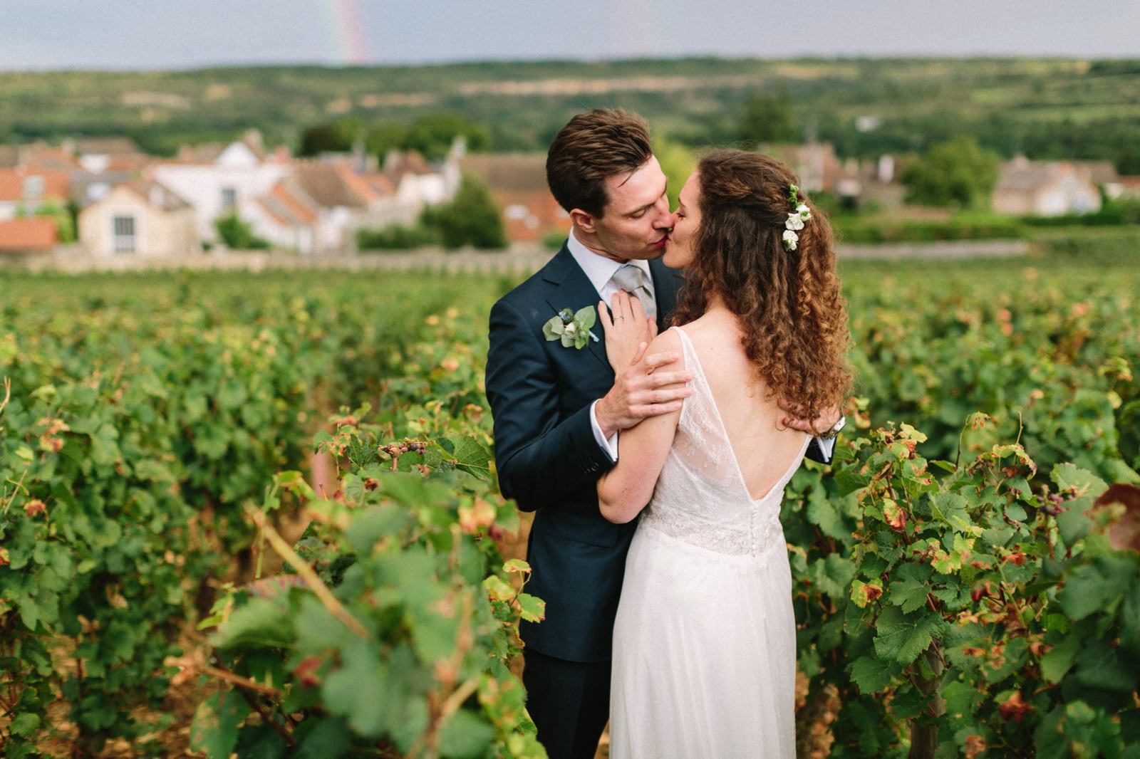 Bourgogne wine road wedding