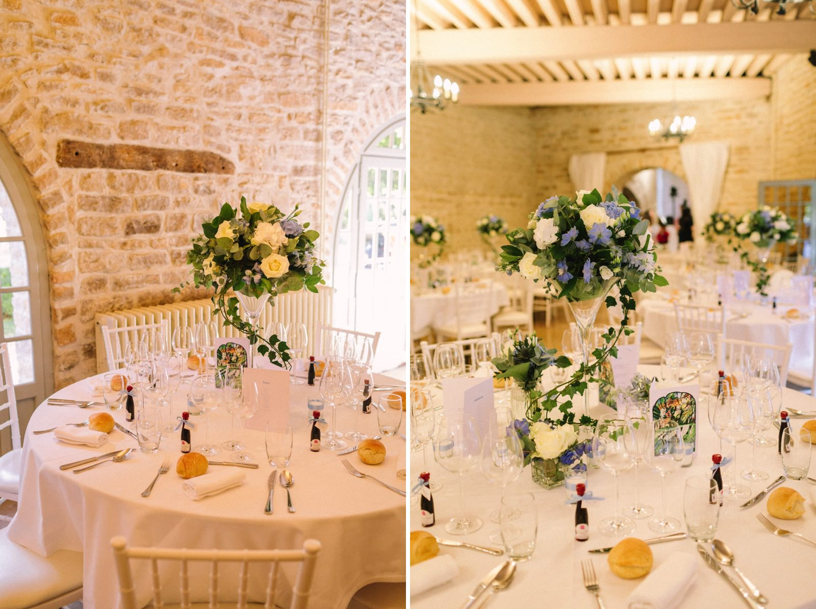 Santenay castle wedding