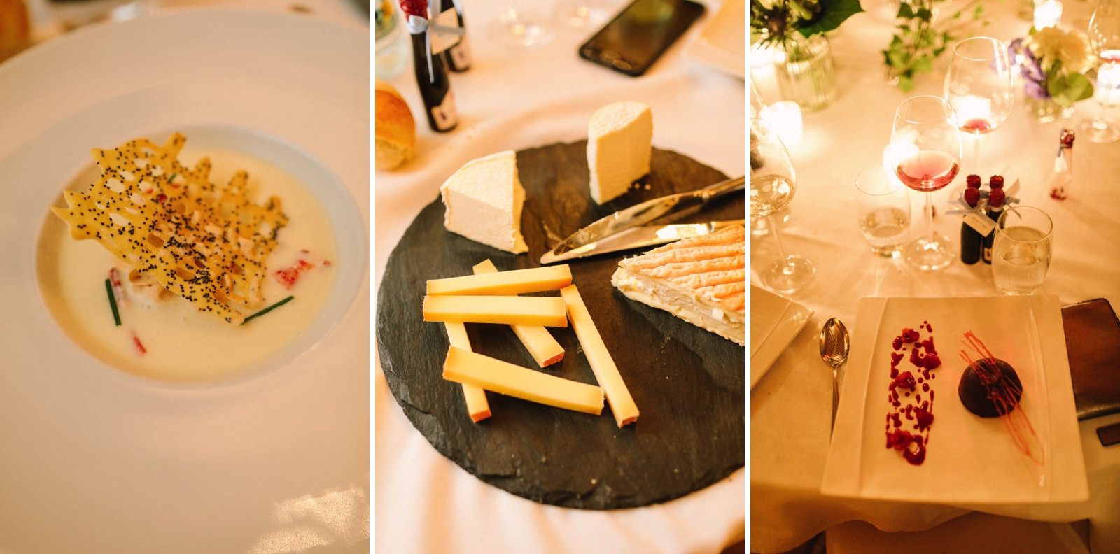 French wedding food