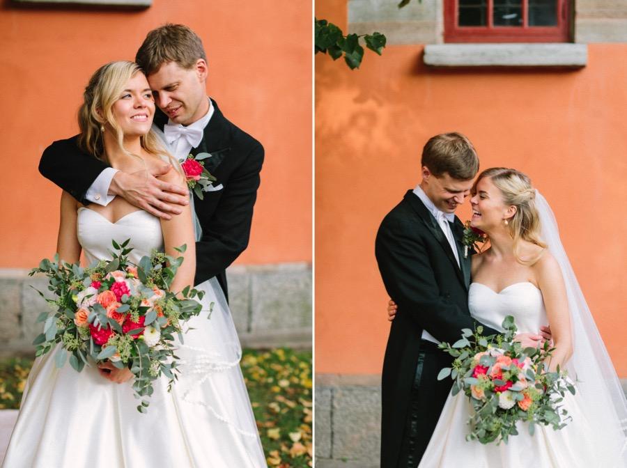Vaxholms Kastell bröllopsfotograf