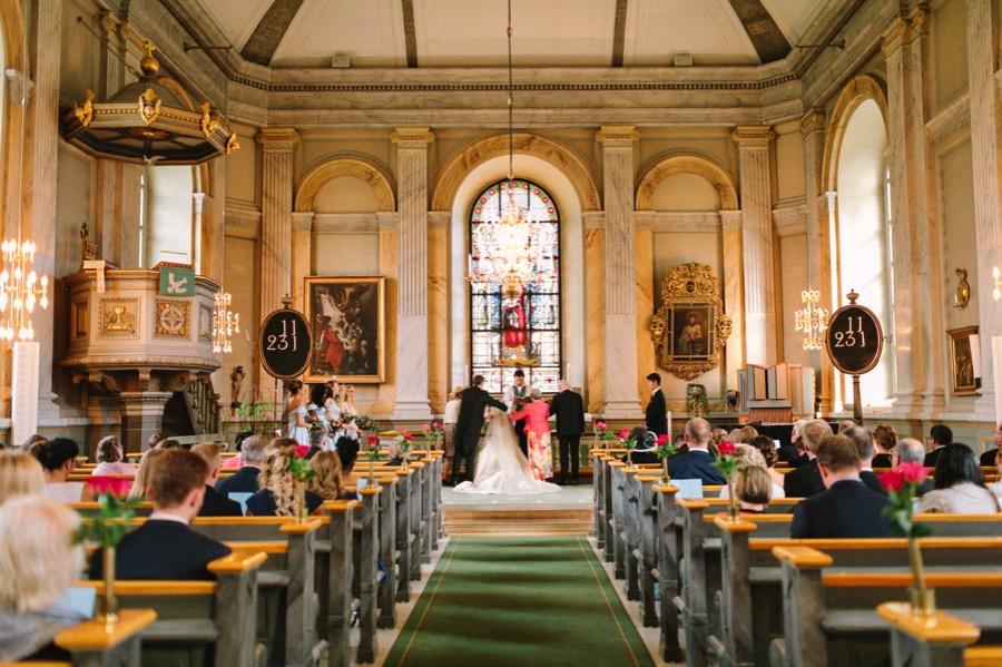 vaxholms kyrka bröllop vigsel