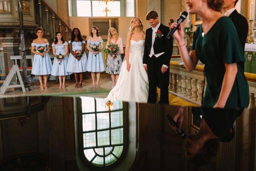 bröllop i vaxholms kyrka