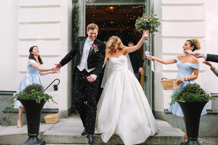 bröllop vaxholm kyrka