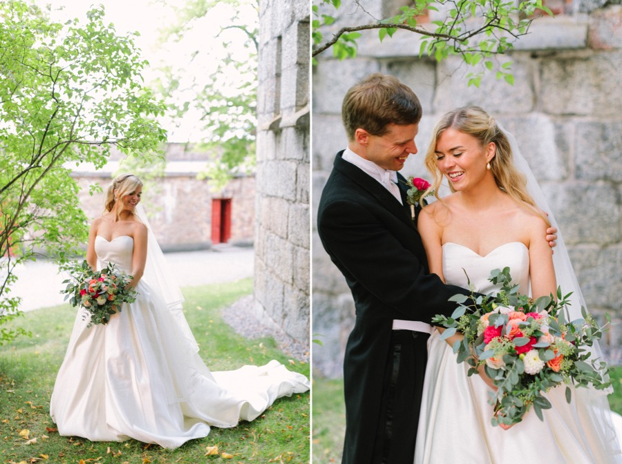 bröllop vaxholms kastell