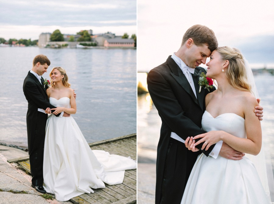 Vaxholm Fortress wedding at Kastellet