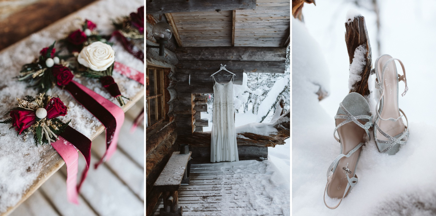 winter wedding Finland