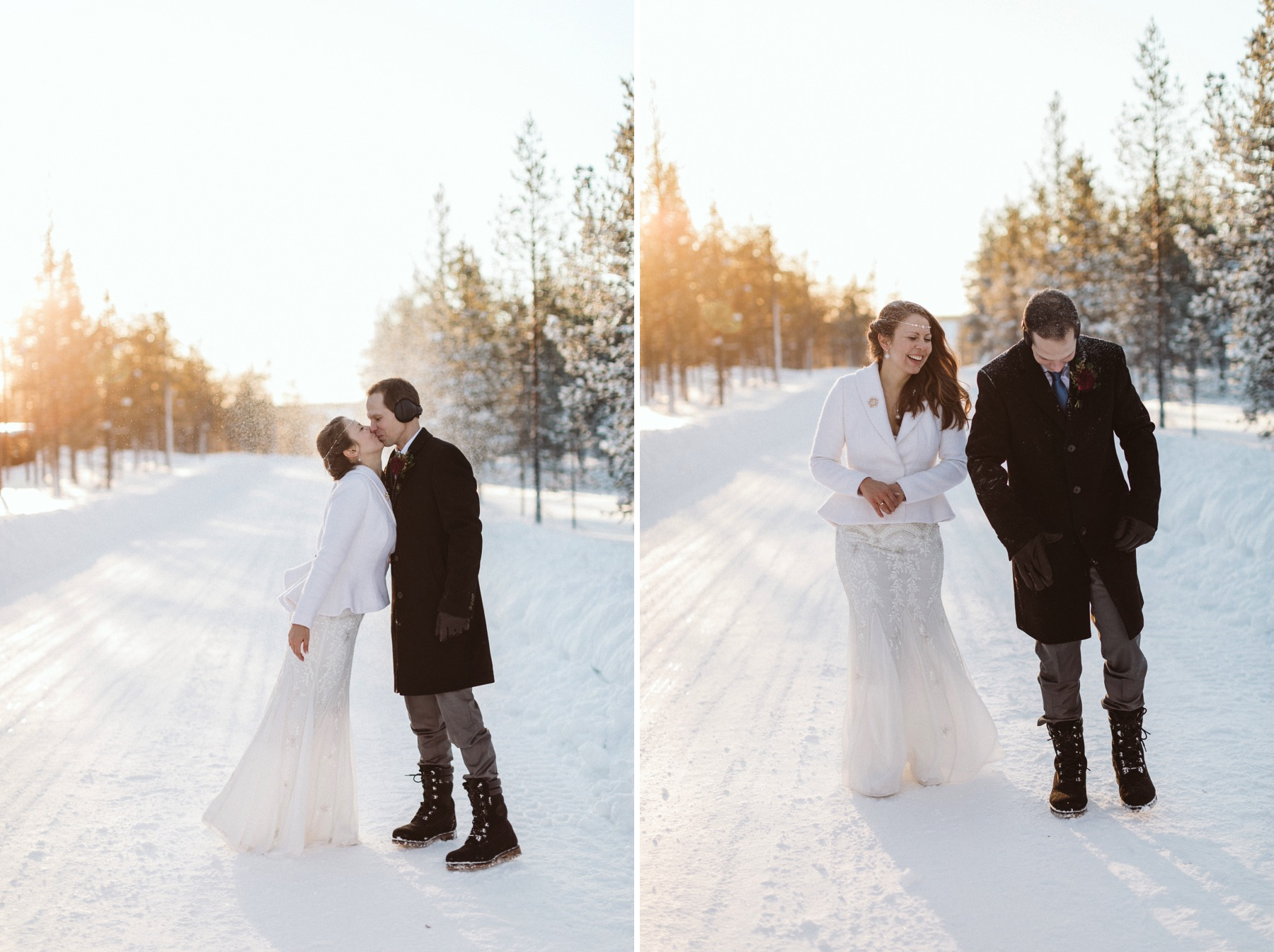 igloo hotel wedding lapland