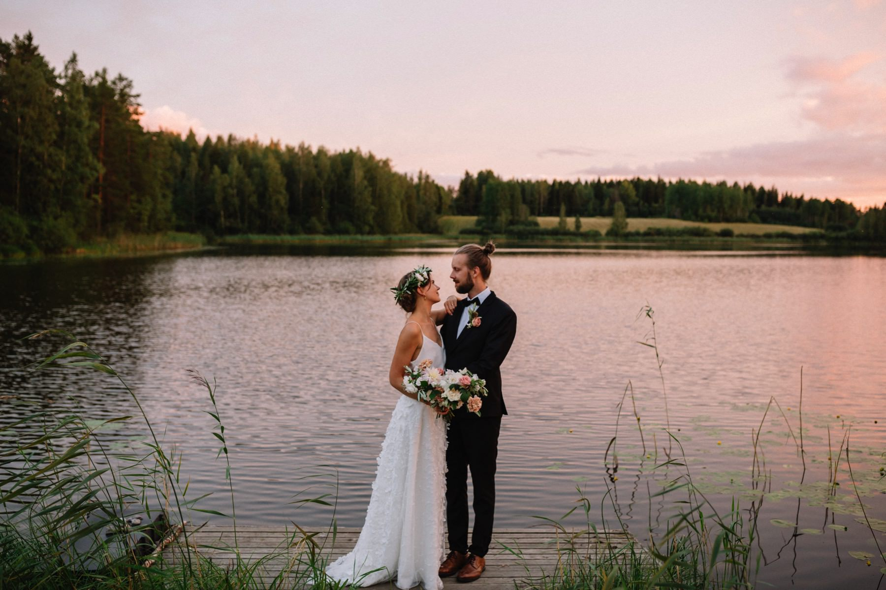 wedding photographer Orivesi Finland