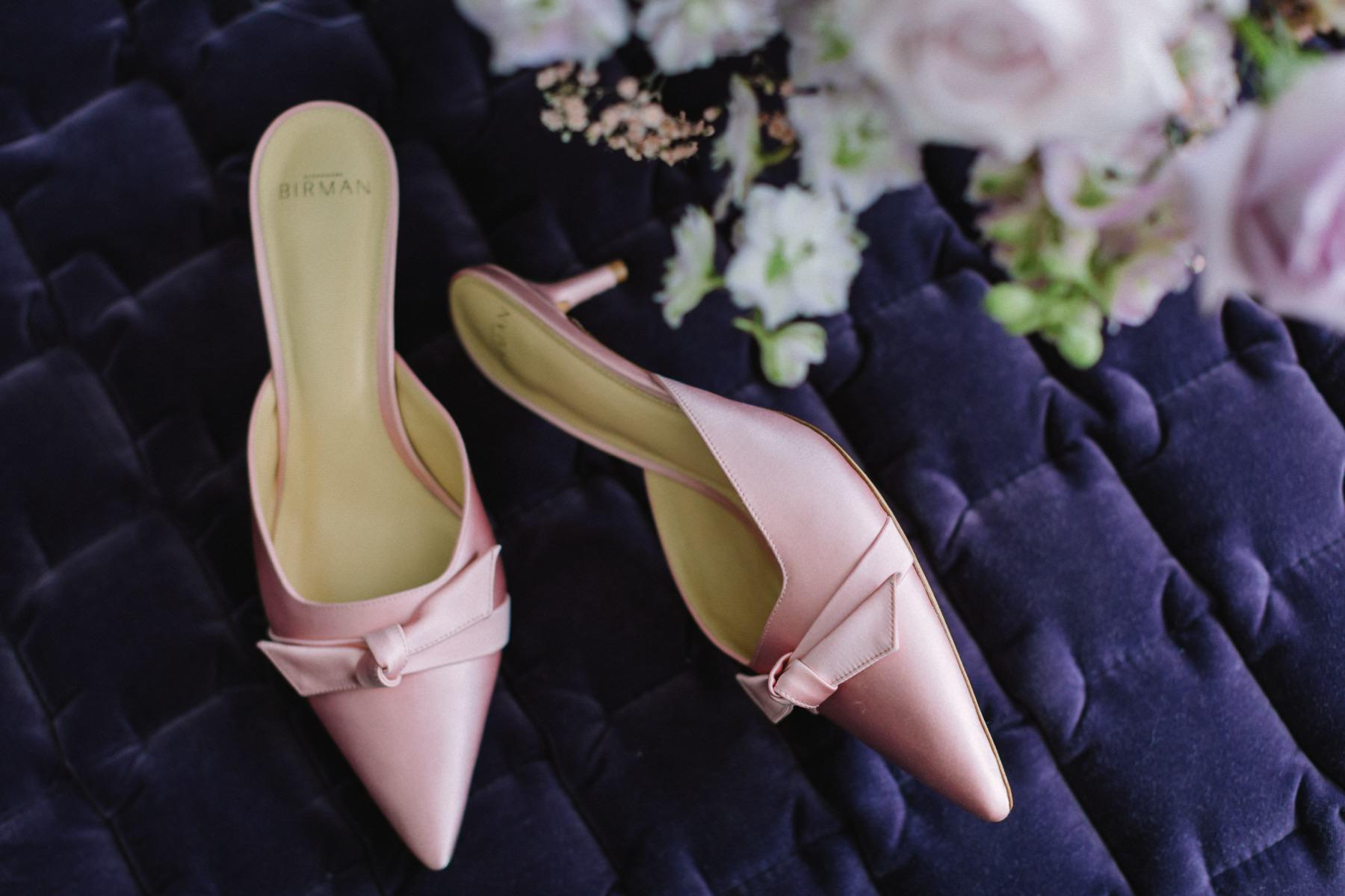 fucsia wedding shoes