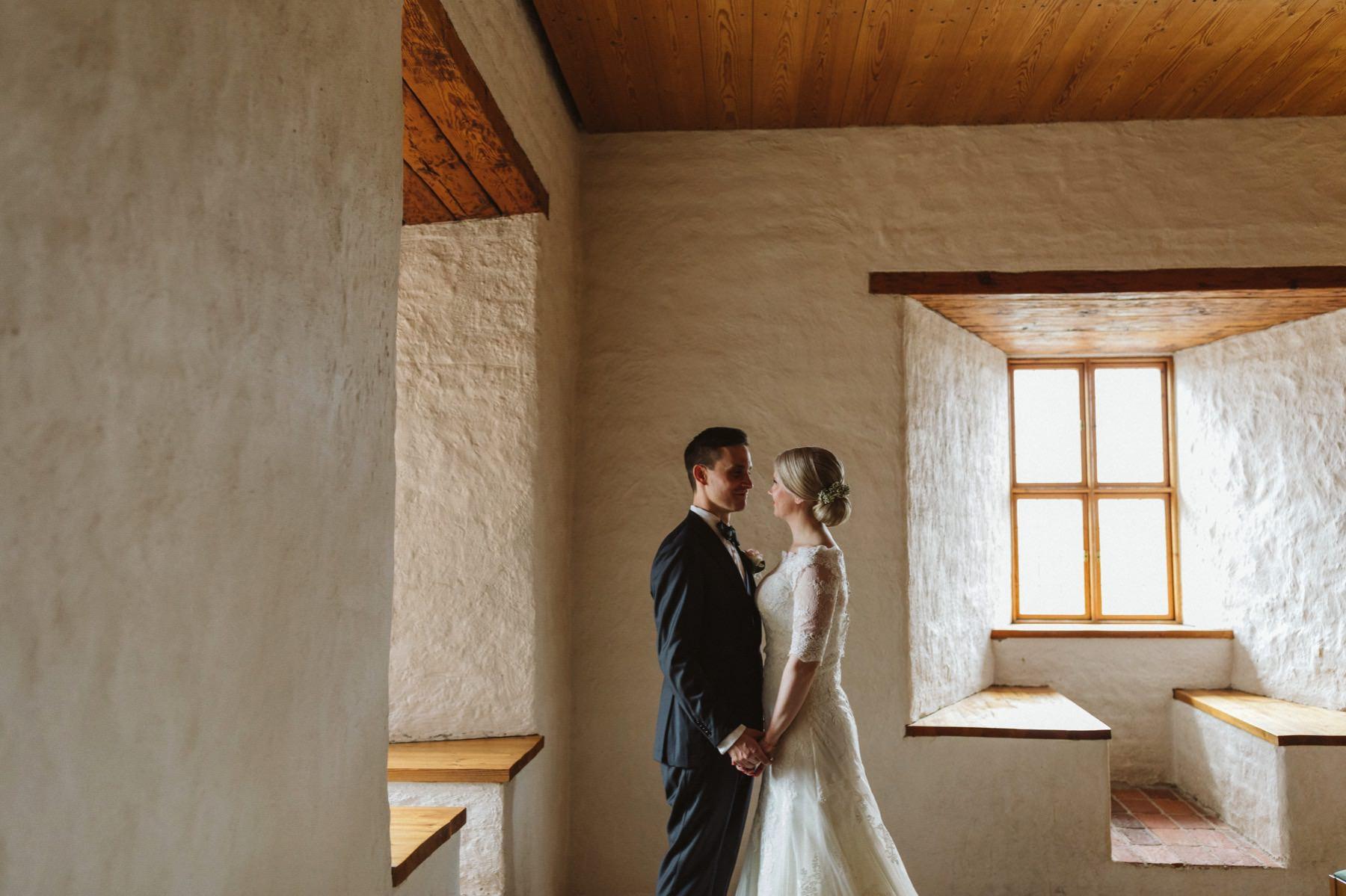 Finnish castle wedding