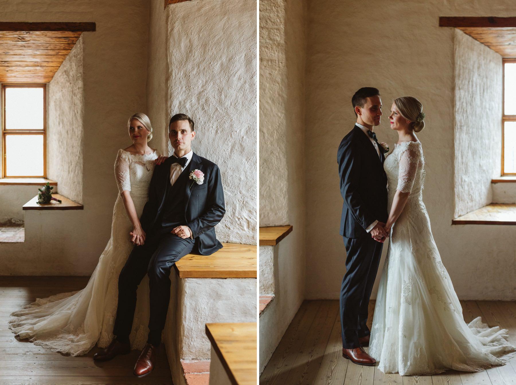 wedding at Häme castle